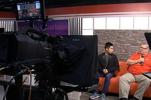 Behind The Scenes Of Hoover High's Student-Run TV News Show