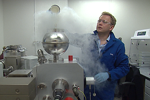 Tease photo for San Diego Scientist Studies The Moon By Way Of A Nuclear Test Site