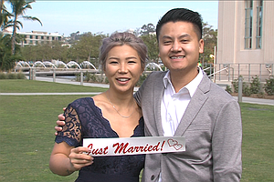 San Diego Couples Get Hitched On Valentine's Day