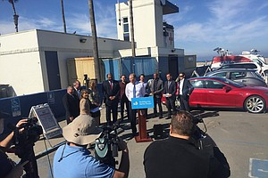 Tease photo for Electric Vehicle Charging Stations Double In San Diego