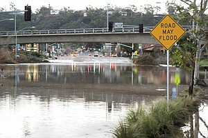 San Diego Exceeds Annual Rainfall Average With Potentiall...