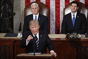 Trump Sees 'New Chapter Of American Greatness' In Big Speech