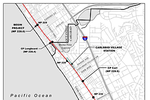 Carlsbad Considers Ambitious Project To Put Trains In A Trench