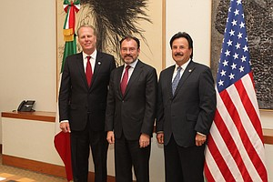 San Diego, Tijuana Leaders Push Regional Issues In Mexico City