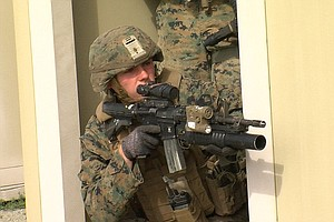 Pendleton Marines Storm Beach In Coordinated Exercise