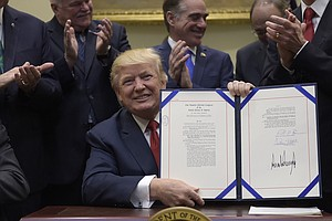 Trump Extends Private-Sector Health Care Program For Vets
