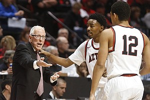 San Diego State Basketball Coach Steve Fisher Discusses Career, Retirement