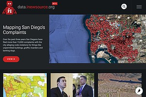 Tease photo for inewsource Launches New Data Center To Help Public Track San Diego Stories