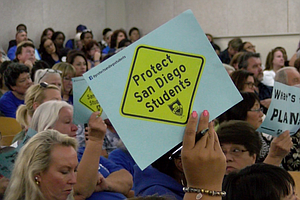 San Diego Unified Library, Mental Health Workers Dodge Budget Ax