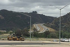 Tease photo for Major Road Widening Project Finished On North County Highway