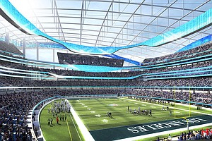 New Stadium For Chargers, Rams Delayed A Year Due To Heavy Rainfall