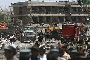 Bombing In Diplomatic Area Of Kabul Kills 90, Wounds Scores