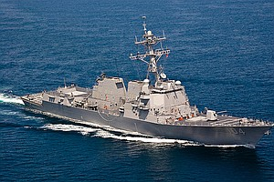 Navy Destroyer USS Sterett Makes Port Call In China