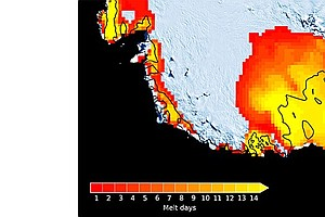 Strong 2015 El Niño Led To Large-Scale Antarctic Melting, Study Says