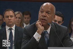 Former DHS Secretary Jeh Johnson Testifies Before House I...