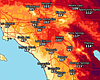 High Temperatures Continue To Sizzle Across Southern California