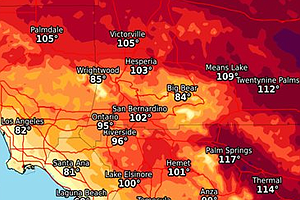Tease photo for High Temperatures Continue To Sizzle Across Southern California