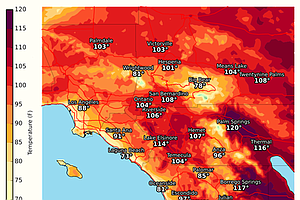 Tease photo for Heat Wave Peaks Monday In Inland San Diego