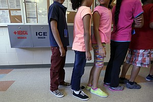 Tease photo for Court: Detained Immigrant Children Entitled To Court Hearing