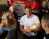 San Diego Firefighters Who Helped Deliver A Child Receive Visit Fro...