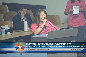 San Diego Unified Approves New Discipline Policy