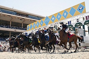 Tease photo for Del Mar Horse Racing Season Kicks Off