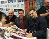 Comic Book Fans Meet Creators At Booths, Panels