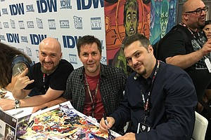 Tease photo for Comic Book Fans Meet Creators At Booths, Panels