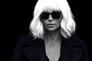 Tease photo for Charlize Theron Owns The Action In 'Atomic Blonde'