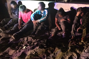 Tease photo for Border Patrol Arrests 12 People At San Diego Beaches