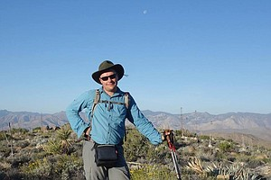 'Afoot And Afield In San Diego County' Co-Author Hiked Ov...