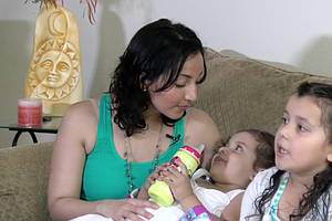 Pregnant Immigrant Reunited With Daughters After Otay Mes...