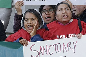 Tease photo for California Governor Signs 'Sanctuary State' Bill
