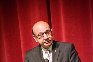 Tease photo for Gold Star Father Khizr Khan Brings Message Of Civility And Unity To San Diego