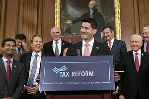Tease photo for Republicans Propose Big Tax Cuts, But Target Popular Deductions
