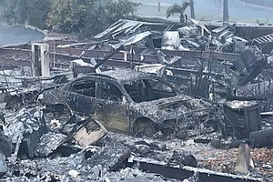 Parts Of Fallbrook In Ashes After Lilac Fire