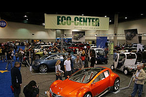 Electric Vehicles Showcased At San Diego International Au...