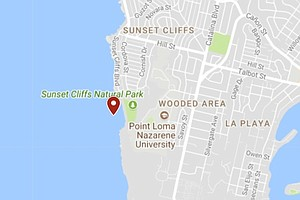 Tease photo for Surfer Found Dead In Water Off Sunset Cliffs