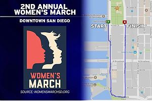 Extra Trolleys, Buses Tapped For Saturday's Women's March; Coaster Not Running