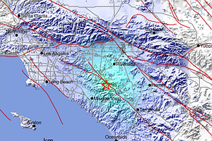 Light Earthquake Shakes Southern California; No Injuries