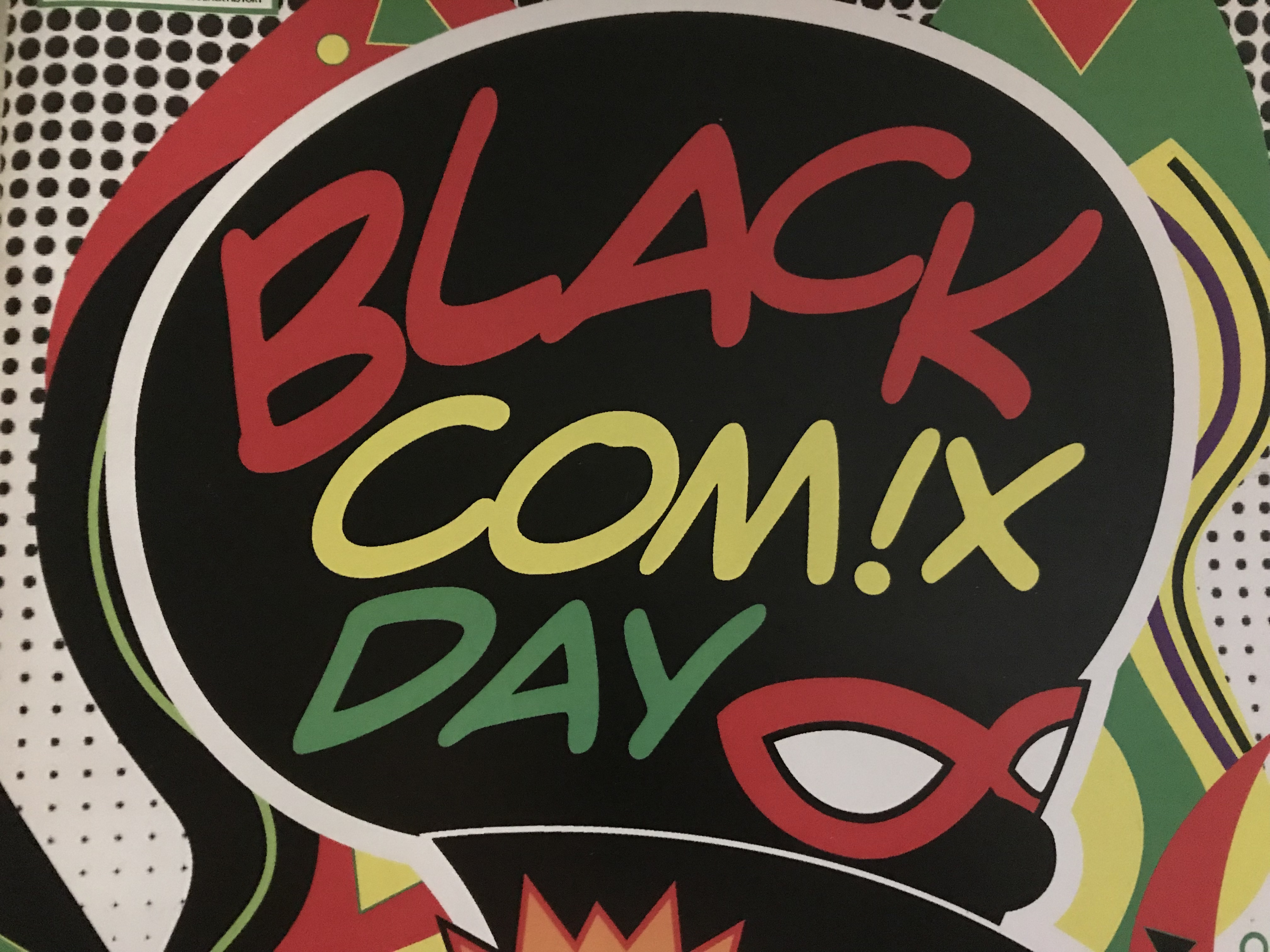 inaugural black comix day celebrates independent black artists and