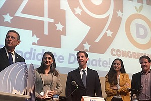 Democrats Looking To Thin Crowded Field In Race For 49th Congressional District