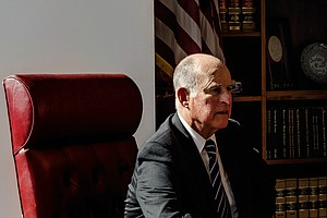 Gov. Brown Confronts His Dreaded L-Word—Legacy—In New Pro...