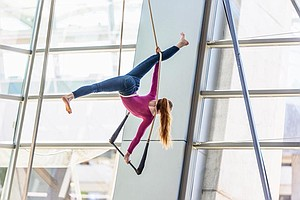 Astraeus Aerial Dance Theatre Artist In Residency Ends This Month At Airport