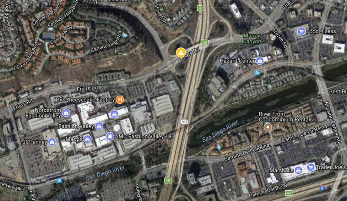 Caltrans To Shutter Westbound Friars Road On-Ramp To