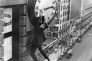 Enjoy Harold Lloyd Silent Classic With Live Music Monday ...