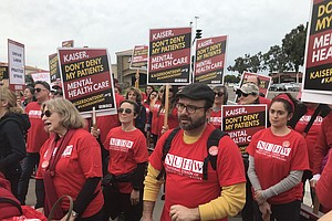 Kaiser Mental Health Workers Hold Five-Day Strike