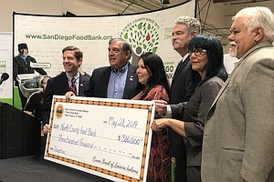Rincon Band Supports San Diego Food Bank Expansion In North County