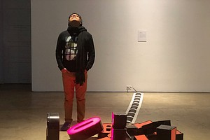 Only Here Podcast: A San Diego Artist Puts Spanglish On A Pedestal