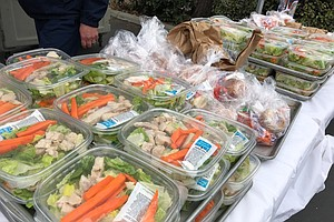 San Diego Unified's Food Distribution Sites Are Open For Business